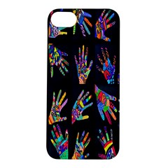 Art With Your Hand Apple Iphone 5s/ Se Hardshell Case by AnjaniArt