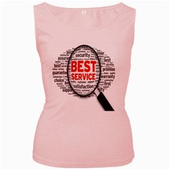 Article Women s Pink Tank Top