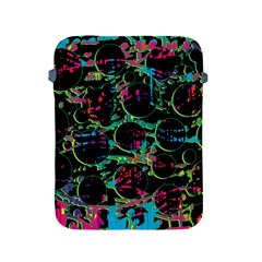 Graffiti Style Design Apple Ipad 2/3/4 Protective Soft Cases by Valentinaart