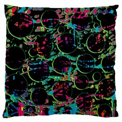 Graffiti Style Design Standard Flano Cushion Case (two Sides) by Valentinaart