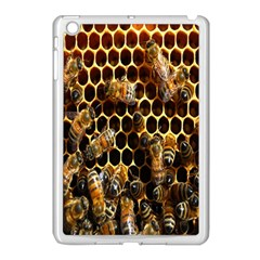 Bees On A Comb Apple Ipad Mini Case (white) by AnjaniArt