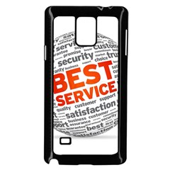 Best Service Samsung Galaxy Note 4 Case (black) by AnjaniArt