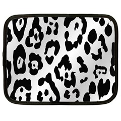 Cheetah Netbook Case (Large) by AnjaniArt