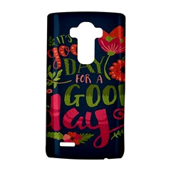 C mon Get Happy With A Bright Floral Themed Print Lg G4 Hardshell Case by AnjaniArt