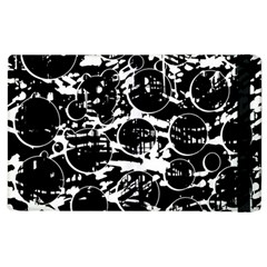 Black And White Confusion Apple Ipad 2 Flip Case by Valentinaart