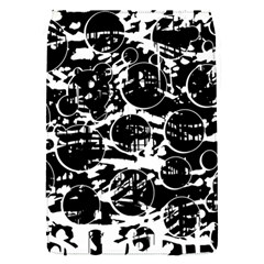 Black and white confusion Flap Covers (S)