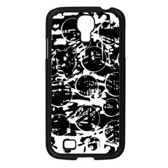 Black And White Confusion Samsung Galaxy S4 I9500/ I9505 Case (black) by Valentinaart