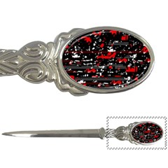 Red Symphony Letter Openers by Valentinaart
