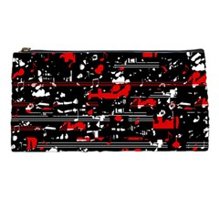 Red Symphony Pencil Cases by Valentinaart