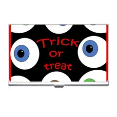 Trick Or Treat  Business Card Holders by Valentinaart