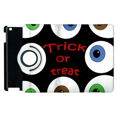 Trick Or Treat  Apple Ipad 3/4 Flip 360 Case by Valentinaart