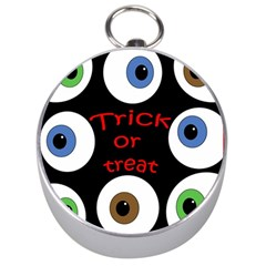 Trick Or Treat  Silver Compasses by Valentinaart