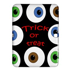 Trick Or Treat  Samsung Galaxy Tab 4 (10 1 ) Hardshell Case  by Valentinaart
