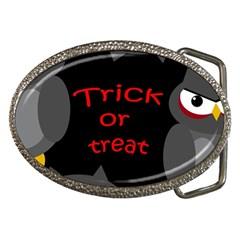 Trick Or Treat   Owls Belt Buckles by Valentinaart
