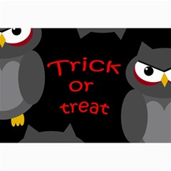 Trick Or Treat   Owls Collage Prints by Valentinaart