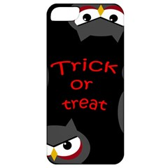 Trick Or Treat   Owls Apple Iphone 5 Classic Hardshell Case by Valentinaart