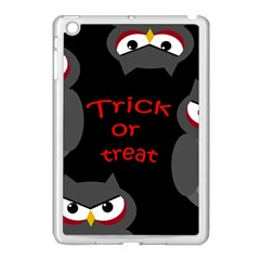 Trick Or Treat   Owls Apple Ipad Mini Case (white) by Valentinaart