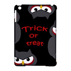 Trick Or Treat   Owls Apple Ipad Mini Hardshell Case (compatible With Smart Cover) by Valentinaart
