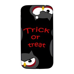 Trick Or Treat   Owls Samsung Galaxy S4 I9500/i9505  Hardshell Back Case by Valentinaart