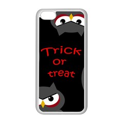 Trick Or Treat   Owls Apple Iphone 5c Seamless Case (white) by Valentinaart
