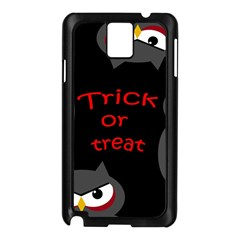 Trick Or Treat   Owls Samsung Galaxy Note 3 N9005 Case (black) by Valentinaart