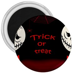 Trick Or Treat 2 3  Magnets by Valentinaart