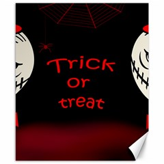 Trick Or Treat 2 Canvas 8  X 10  by Valentinaart