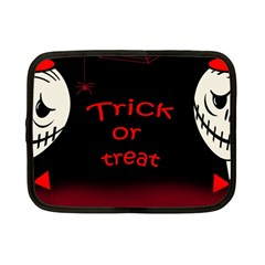 Trick Or Treat 2 Netbook Case (small)  by Valentinaart