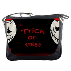 Trick Or Treat 2 Messenger Bags by Valentinaart