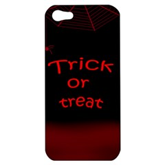 Trick Or Treat 2 Apple Iphone 5 Hardshell Case by Valentinaart