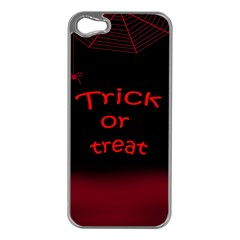 Trick Or Treat 2 Apple Iphone 5 Case (silver) by Valentinaart