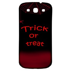 Trick Or Treat 2 Samsung Galaxy S3 S Iii Classic Hardshell Back Case by Valentinaart