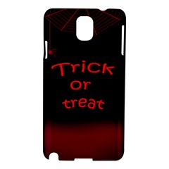 Trick Or Treat 2 Samsung Galaxy Note 3 N9005 Hardshell Case by Valentinaart