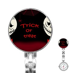 Trick Or Treat 2 Stainless Steel Nurses Watch by Valentinaart
