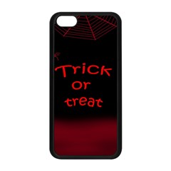 Trick Or Treat 2 Apple Iphone 5c Seamless Case (black) by Valentinaart