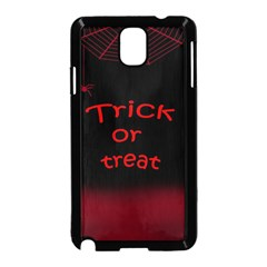Trick Or Treat 2 Samsung Galaxy Note 3 Neo Hardshell Case (black) by Valentinaart
