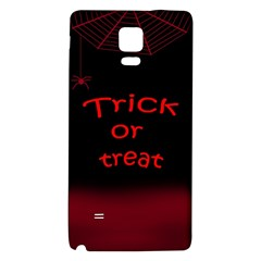 Trick Or Treat 2 Galaxy Note 4 Back Case by Valentinaart