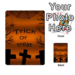 Trick Or Treat   Cemetery  Multi Purpose Cards (rectangle)  by Valentinaart
