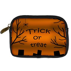 Trick Or Treat   Cemetery  Digital Camera Cases by Valentinaart