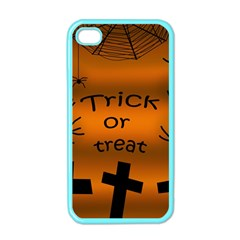 Trick Or Treat   Cemetery  Apple Iphone 4 Case (color) by Valentinaart