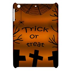 Trick or treat - cemetery  Apple iPad Mini Hardshell Case by Valentinaart