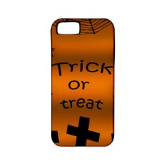 Trick Or Treat   Cemetery  Apple Iphone 5 Classic Hardshell Case (pc+silicone) by Valentinaart