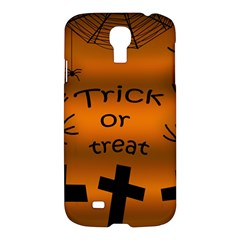 Trick Or Treat   Cemetery  Samsung Galaxy S4 I9500/i9505 Hardshell Case by Valentinaart