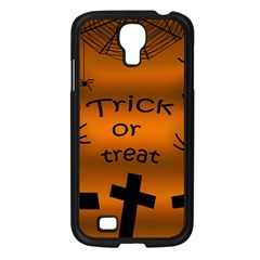 Trick Or Treat   Cemetery  Samsung Galaxy S4 I9500/ I9505 Case (black) by Valentinaart