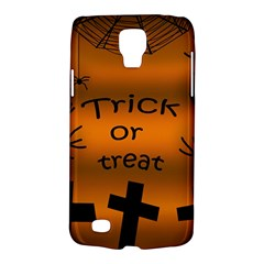 Trick Or Treat   Cemetery  Galaxy S4 Active by Valentinaart