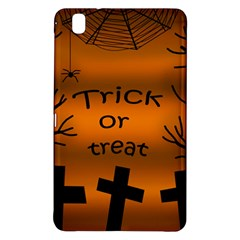 Trick Or Treat   Cemetery  Samsung Galaxy Tab Pro 8 4 Hardshell Case by Valentinaart