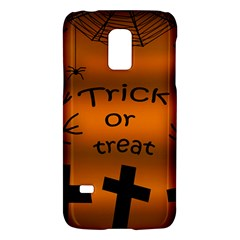 Trick Or Treat   Cemetery  Galaxy S5 Mini by Valentinaart