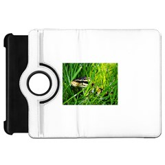 Ball Python In Grass Kindle Fire HD Flip 360 Case by TailWags