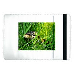 Ball Python In Grass Samsung Galaxy Tab Pro 10.1  Flip Case by TailWags