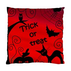 Trick Or Treat   Halloween Landscape Standard Cushion Case (one Side) by Valentinaart